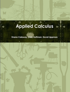 """Book cover for the text """"Applied Calculus"""""""